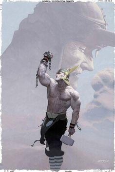 Thor & Loki - Esad Ribic