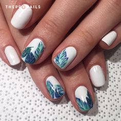 #floral #partern #nails #nailart #simple