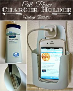 Cell Phone Charger Holder