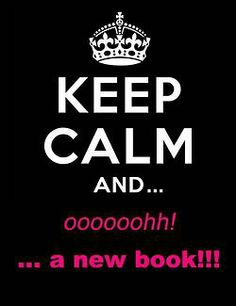 That's what I'm like when the next book in one of my favourite series come out.