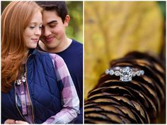 Carrie Holbo Photography | Chicago, IL | Fall Engagement Photography | Morton Arboretum