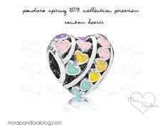Pandora Spring 2018 Rainbow hearts
