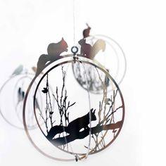 Geschenkset Anhänger Birds, Rabbit & Squirrel, 3er Set. Mehr Geschenksets: http://www.desiary.de/geschenkideen/Geschenksets/