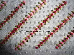 Hardanger Embroidery, Silk Ribbon Embroidery, Cross Stitch Embroidery, Embroidery Patterns, Hand Embroidery, Needlepoint Stitches, Needlework, Diy Bordados, Drawn Thread