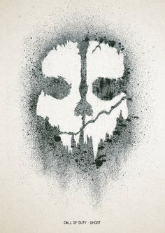 Call Of Duty Ghost Stencil