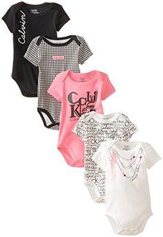 Calvin Klein Baby-Girls Newborn 5 Pack Bodysuits Black Pink Group, Multi, 3-6 Months Calvin Klein http://www.amazon.com/dp/B00K14AZ00/ref=cm_sw_r_pi_dp_P6LFub1YWC64B