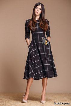Modelos e Dicas para Usar Vestidos de Xadrez