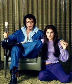 Elvis Presley & Priscilla Presley