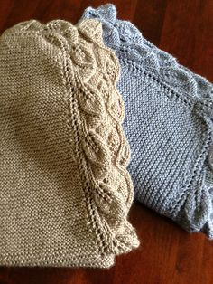 Free Pattern: Sproutling Baby Blanket by Judy Kaethler