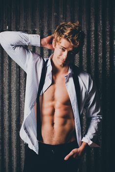 Luke Mitchell. wow hes like drop dead gorgeous