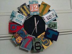 Reminds me of an ATC clock...I may have to try it!