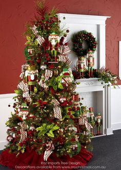 Tendencias para decorar tu arbol de navidad 2016-2017 http://cursodeorganizaciondelhogar.com/tendencias-para-decorar-tu-arbol-de-navidad-2016-2017/ Christmas tree trends Decorations 2016 - 2017