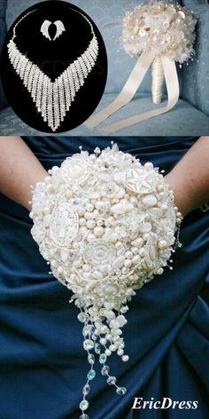 #Wedding Bouquet#Wedding Jewelry#Romantic Wedding#