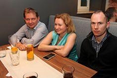 From the left: Mariusz Filipiak (Evio Polska), Marzena Łagowska (Evio Polska), Damian Rezner