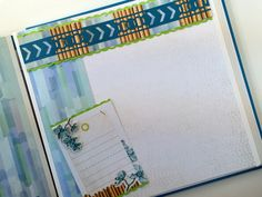 Playing around with the new Circle Weave Border Maker Cartridge, I discovered it…