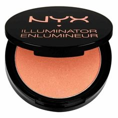 NYX Illuminator bronzer in magnetic: Its universally flattering peach-pink and hint of shimmer are reminiscent of the most popular blush of all time — Nars Orgasm — for a third of the price.