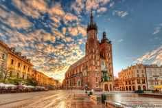 Kraków also Cracow, or Krakow is the second largest and one of the oldest cities in Poland. Situated on the Vistula River in the Lesser Poland region, the city. Oh The Places You'll Go, Places To Travel, Travel Destinations, Places To Visit, Backpacking Europe, Traveling Europe, Travelling, Dream Vacations, Vacation Spots