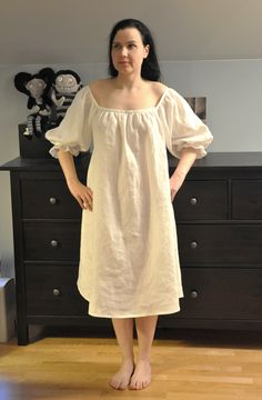 17th century shift......21st century nighty?