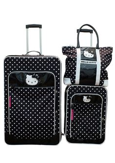 HELLO KITTY Hello Kitty Dots Luggage Set
