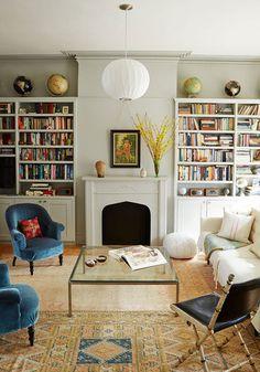 DOMINO:12 Reasons Why We're Loving Built-In Bookshelves