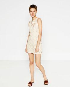 Image 2 of MACRAMÉ DRESS from Zara