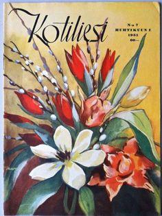 Kotiliesi-lehtiä -30-40-50-60-luvulta