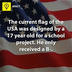 His teacher told him that if it was adopted by Congress she'd reconsider. When…