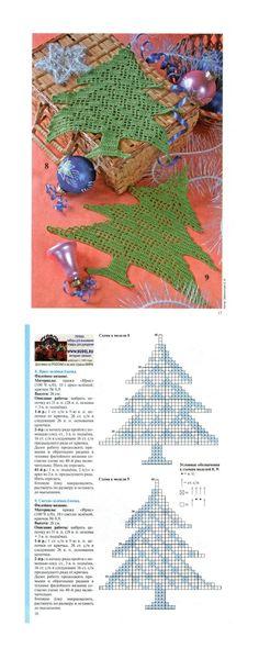 Crochet Christmas Tree - Chart