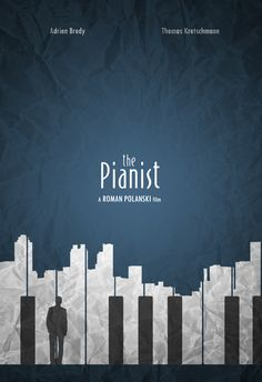 The pianist - Minimalist Version by on DeviantA.-The pianist – Minimalist Version by on DeviantArt I love this Minimalist version of The pianist poster! Minimal Movie Posters, Film Posters, Minimal Poster, Graphic Design Posters, Graphic Design Inspiration, Poster Designs, Simple Poster Design, Minimalist Poster Design, Creative Poster Design