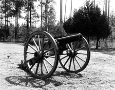 Florida Memory - Cannon at Olustee Battlefield State Historic Site - Olustee, Florida