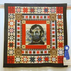 Remembering Abe by Barb Vedder. Brownstone Quilters Show NJ 2011