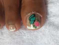 Manicure And Pedicure, Nail Art, Christmas, Instagram, Work Nails, Frases, Simple Toe Nails, Nail Art Designs, Toe Nail Art