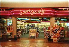 How Sam Goody, Journeys, Merry-Go-Round, and Structure were your first stops on trips to the mall. Those Were The Days, The Good Old Days, School Memories, Best Memories, 90s Childhood, Childhood Memories, Mall Stores, Retail Stores, Teenage Guys
