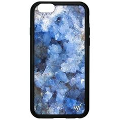 Crystal Blue iPhone 6/7/8 Case (€28) ❤ liked on Polyvore featuring accessories and tech accessories