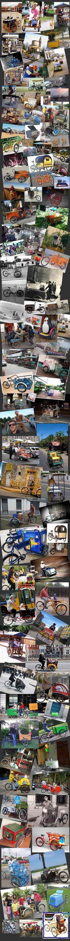 100 ways to use cargobikes