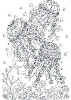 Adult Coloring Book Printable Coloring Pages by JoenayInspirations: