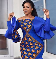 e -Fashion World is a channel created to promote Africa fashion and culture. Our aim is to see Africa fashion and designs take an enviable and impressionable. Ankara Dress Styles, African Fashion Ankara, Latest African Fashion Dresses, African Dresses For Women, African Print Dresses, African Print Fashion, African Attire, Ghana Fashion, Africa Fashion