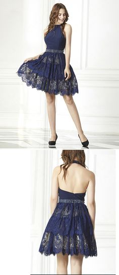 Cocktail Dress Prom, Short Prom, Navy Shorts, Homecoming Dresses, Perfect Fit, Fancy, Gowns, Moonlight, Fashion
