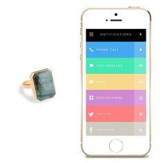 Ringly Notification Smart Ring
