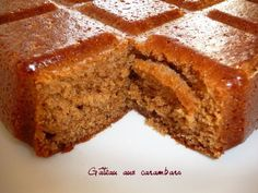 Gâteau aux carambars3 Dessert Thermomix, Biscuit Cake, Cooking Chef, Sweet Cakes, Tupperware, Sweet Recipes, Bakery, Sweet Treats, Dessert Recipes
