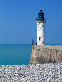 Normandy lighthouse