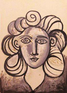 Portrait of Françoise Gilot - Pablo Picasso
