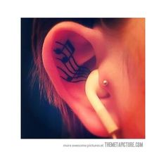 Tattoos and Piercings found on Polyvore