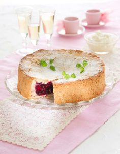 French strawberry cake | France | Pirkka - ok this recipe is Finnish, given to me by my friend in Finland - couple of comments so i don't get flamed - first its in finnish! use google translate or use Chrome - which translates automatically - 2nd - in the instructions when it says irotopohjavuoan which doesn't translate - they mean a piece of parchment paper inside a springform pan - 3rd, grease and then flour your pan - be generous with the flour!