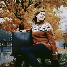 @elliskrelli finished her beautiful #melrakkisweater with Amber Heather as main color 💛❤️😊 Doesn't she look lovley 😘!? #alafosslopi #alafoss #iceland #icelandicknitting #melrakki #knitting #dogsweater #shibasweater #instaknitting #nordicknitting #mjallarshíba #lopi #icelandicwool #icelandicsweater #icelandicsweaters #knittersofinstagram #strikketøy #vintersoldesigns #mjallarshibaknits #islandpullover #prjóna #Istex #woolfox #loparefur