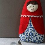 Little red riding hood doll pattern. So simple & cute I can't believe I didn't think of it before!!!