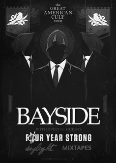 The Great American Cult Tour featuring #Bayside, #FourYearStrong, #Daylight, and #Mixtapes! #soundrink