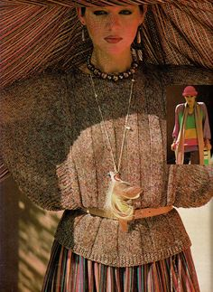 Missoni,  ELLE France - March 141977,  Photographed by Sacha