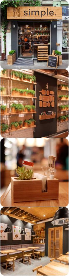 Restaurant, Bar and Design on Pinterest