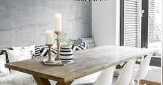 Interieur inspiratie uit Oslo. Voor meer wooninspiratie neem ook eens een kijkje op http://www.wonenonline.nl/ | Τραπεζαρία | Pinterest | White int… | Pinterest